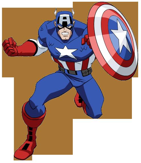 Wolverine clipart avenger Superhero Captain Printables America Clipart