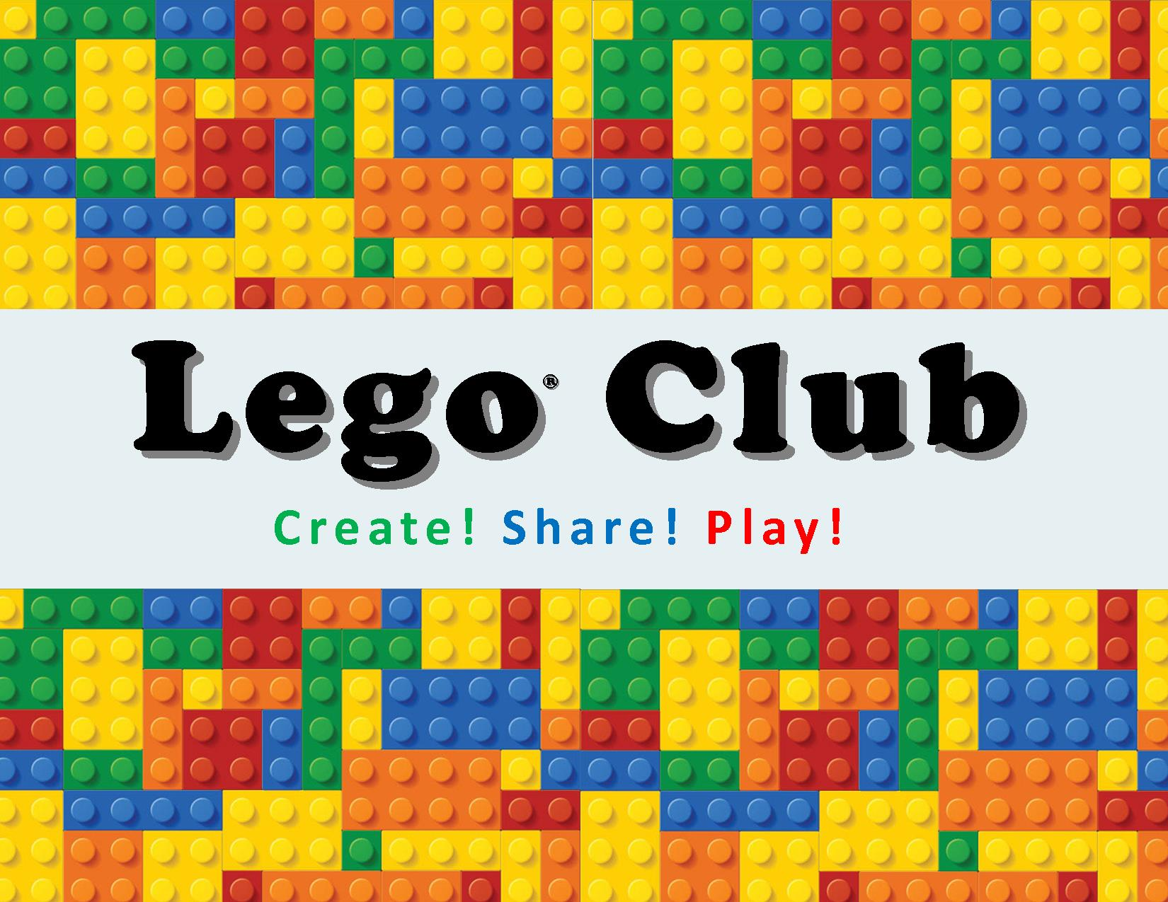 Lego clipart club Boyne Library Boyne District District