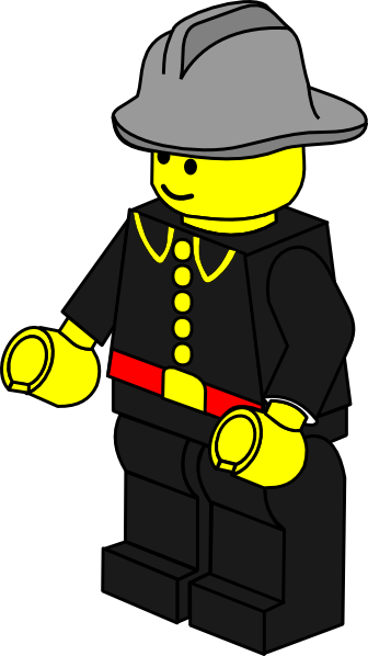 Lego clipart firefighter  image this art at