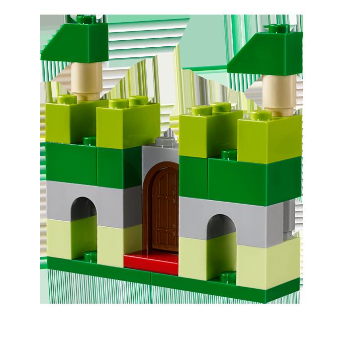 Lego clipart green Green castle Green LEGO Classic