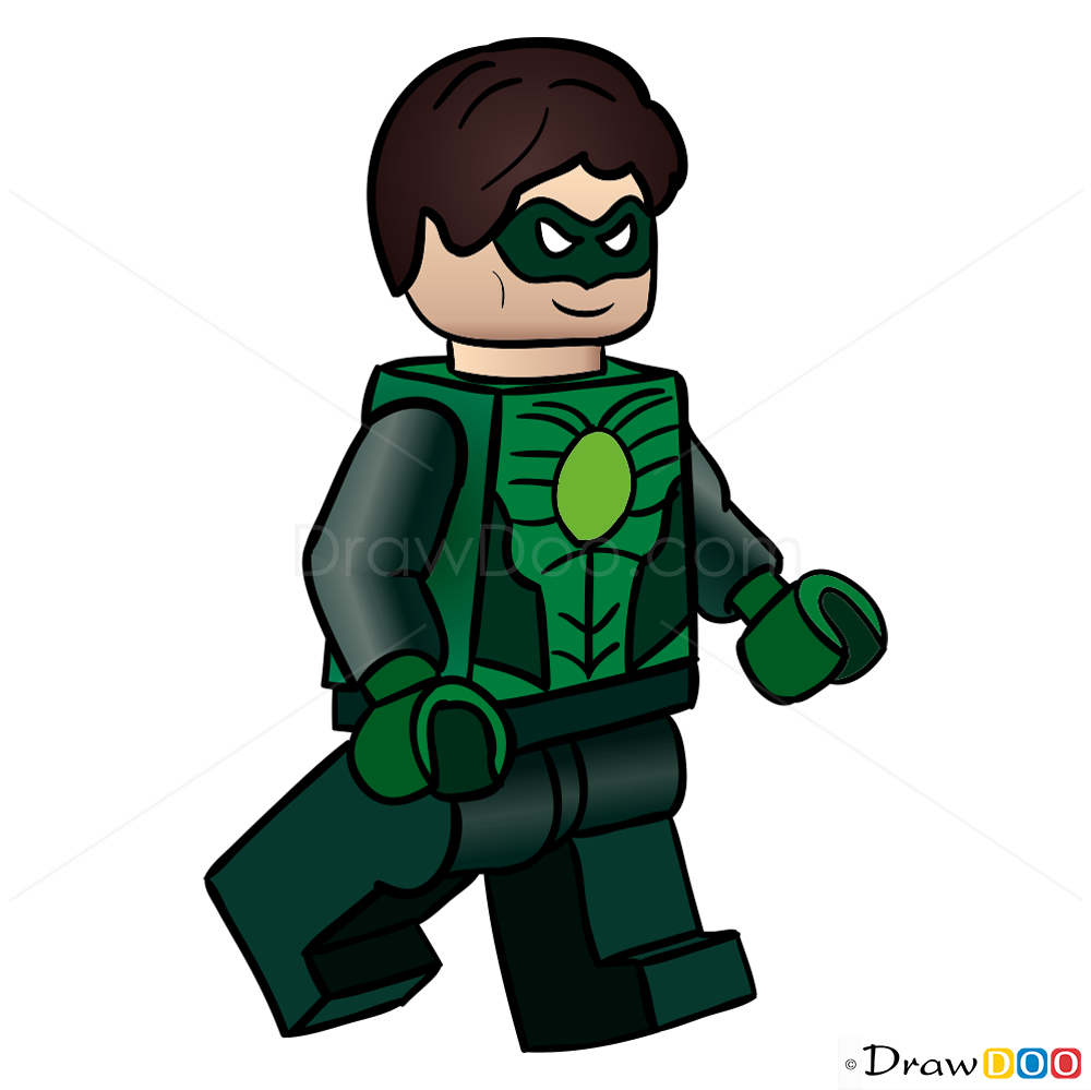 Lego clipart green To Draw  Heroes Super