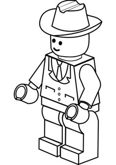 Lego clipart hat Clipart lego Google Minifig