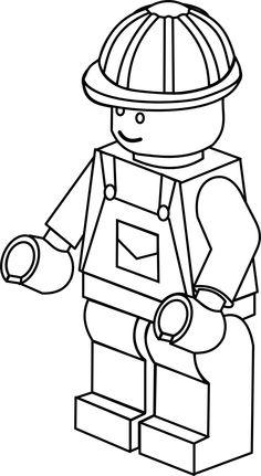 Lego clipart lego city Blue flockfolie white art clip