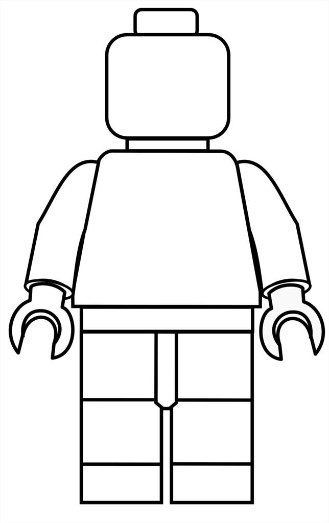 Lego clipart lego person Mini  Mini Your coloring
