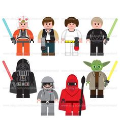 Star Wars clipart vector Star Lego Lego Wars Clipart
