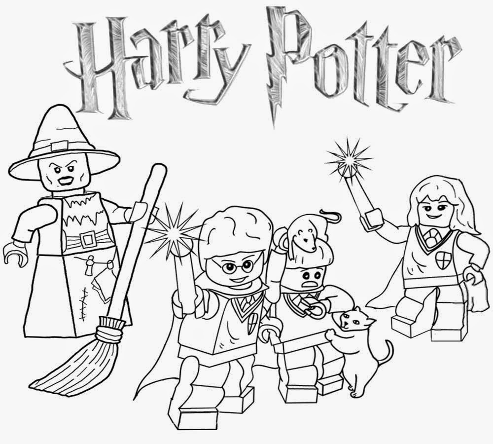 Sorcerer clipart coloring Coloring Harry Lego  Clipart