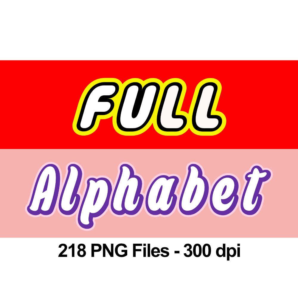 Lego clipart pink Digital is Alphabet  300