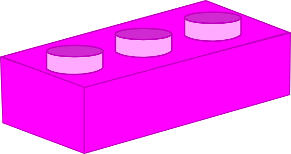 Lego clipart pink As: this at online art