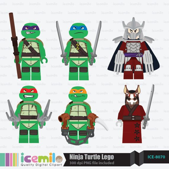 Ninja Turtles clipart tennage Pinterest Lego on icemiloclipart http