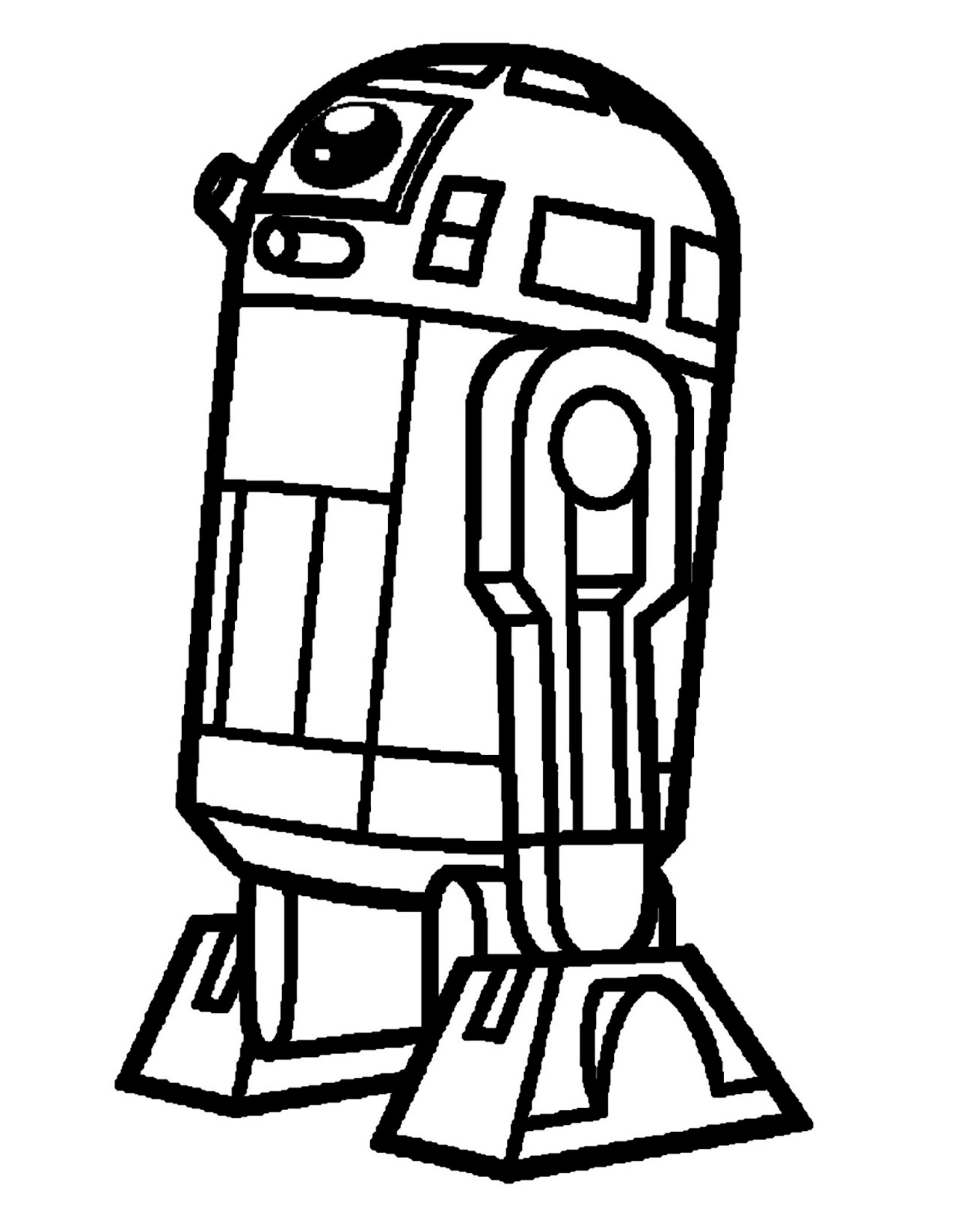 Star Wars clipart simple To 400×3 2 outline outline
