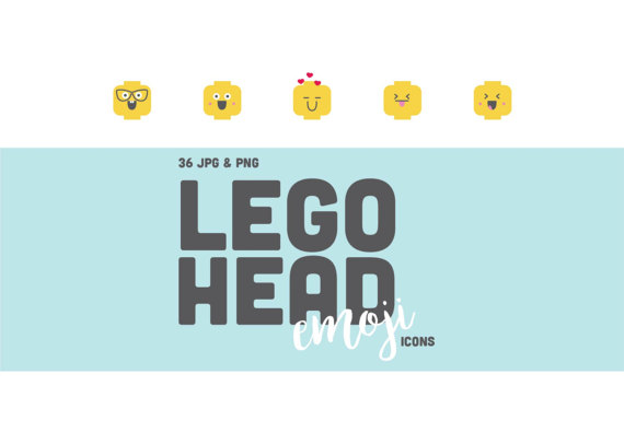 Lego clipart smiley & Icons Head & Lego