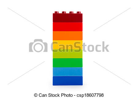Lego clipart stack  A white Photographs color