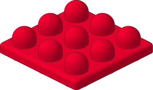 Lego clipart stack 1) 1 (#2082 x Red