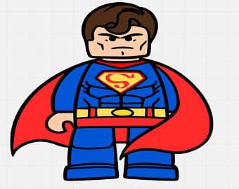 Lego clipart superman Cutting Superman Lego Svg Svg