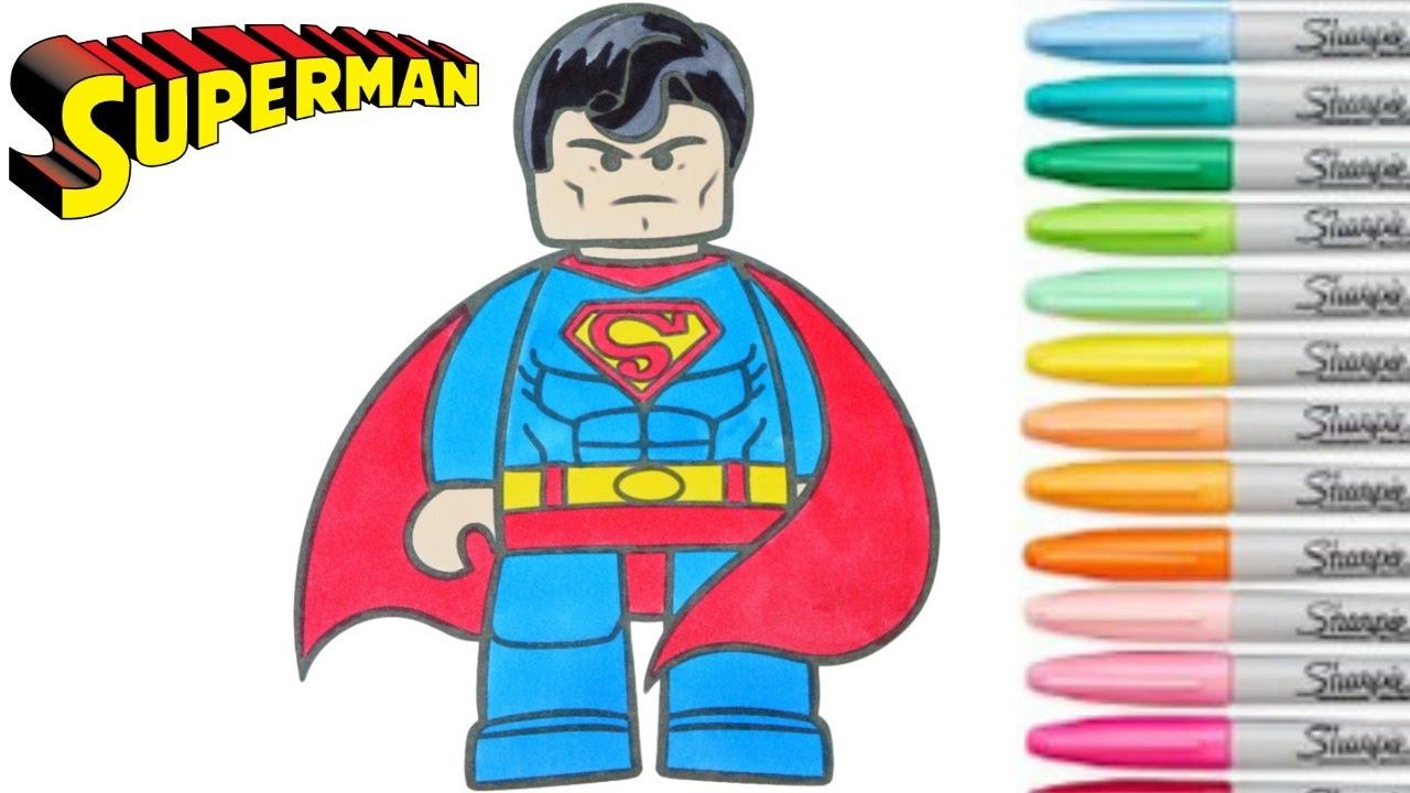 Lego clipart superman Rainbow Book Comics Colouring DC