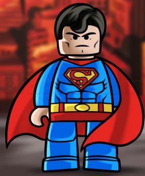 Lego clipart superman cartoon The superman superman to How