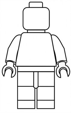 Lego clipart template For party little Pinterest filled