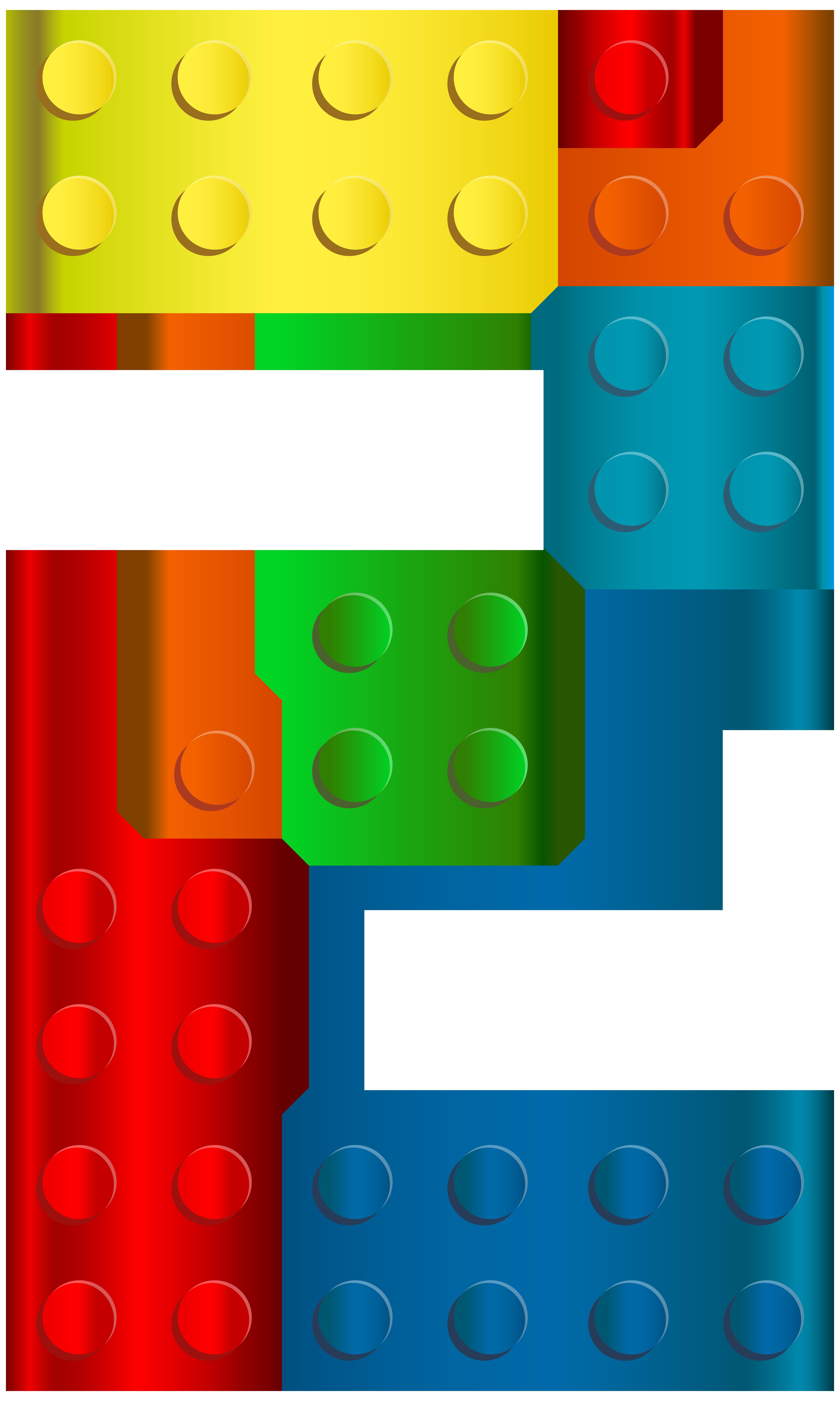 Square clipart lego Two View  Lego Clip