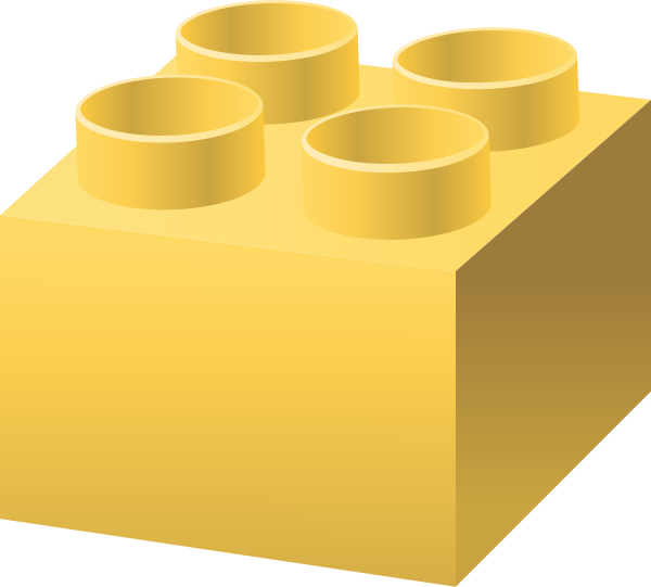 Lego clipart yellow Free Yellow for vector LEGO