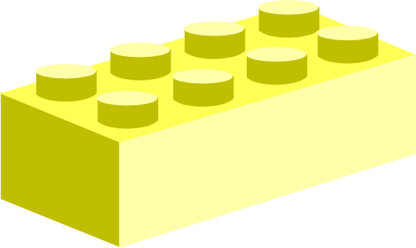 Lego clipart yellow At this free vector Art