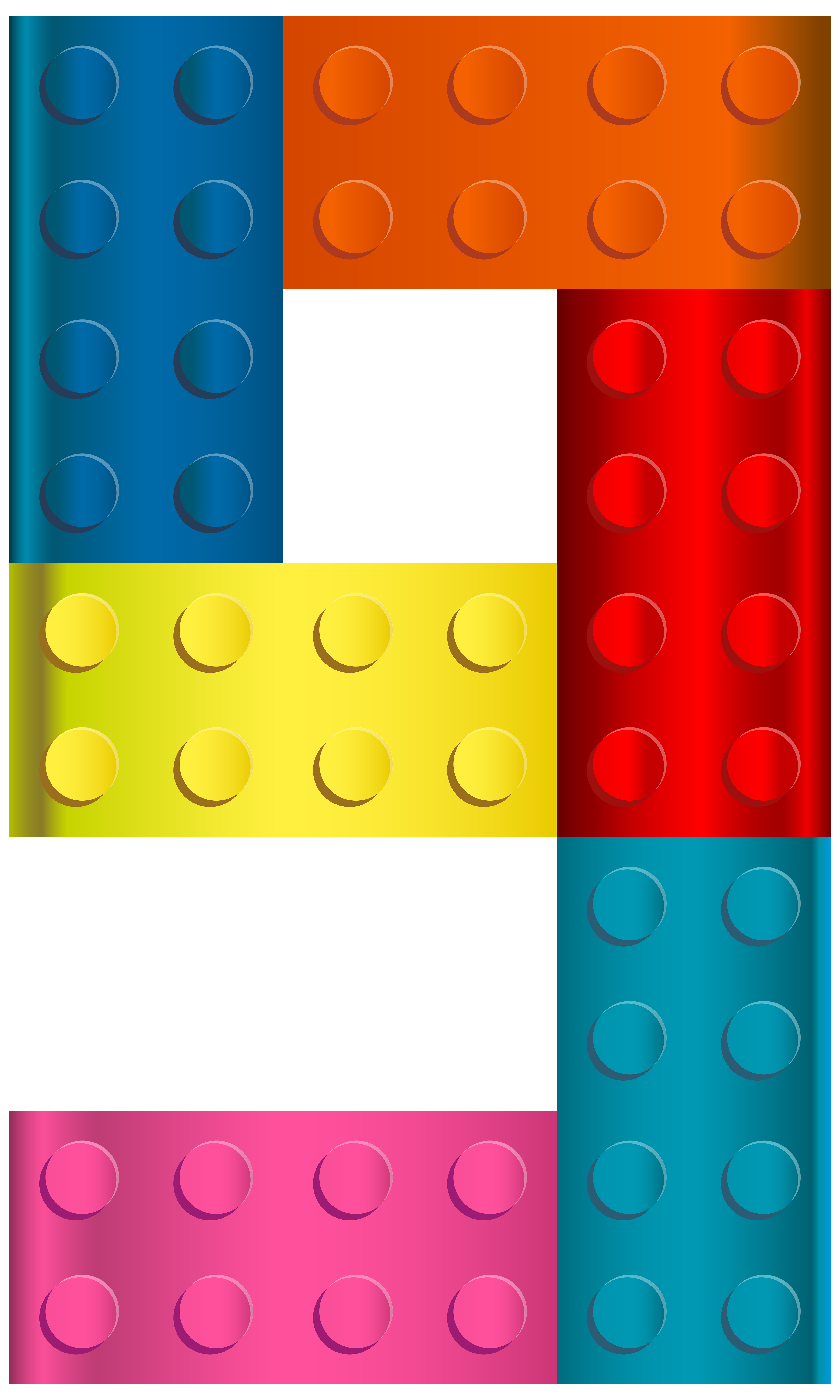 Lego clipart yellow Transparent full Image PNG Number