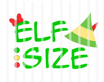 Legs clipart buddy the elf The  Cutters Decal Design