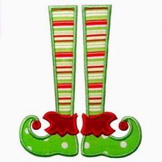 Legs clipart women's  and Elf felt christmas
