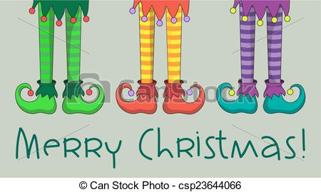 Legs clipart christmas elf Of  legs The and
