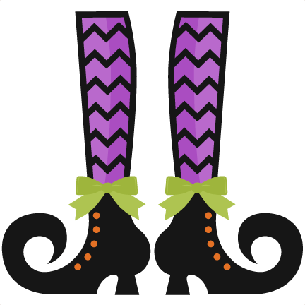 Legz clipart cute halloween witch Shoes clipart cut pazzles free