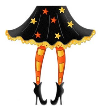 Legz clipart cute halloween witch Clipart Collections (06) Halloween Clipart