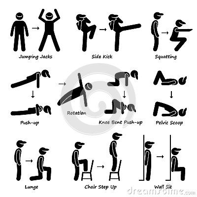 Legs clipart different exercise Training (Set Fitness 17 images