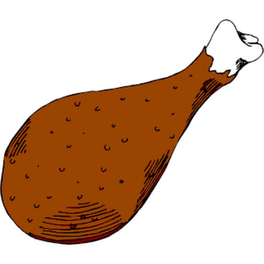 Mutton clipart fried chicken Chicken leg Clipart Leg the