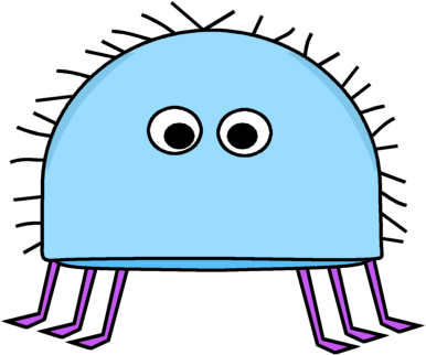 Legs clipart insect Blue Bug with Hairy and