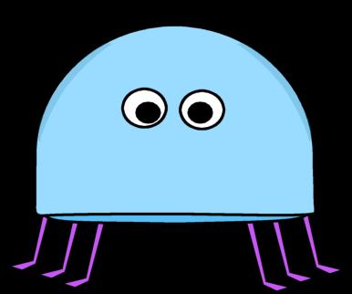 Bugs clipart blue Hairy hairy blue Clip Hairy