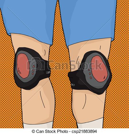 Legs clipart knee Csp21883894 Knee of Pads Legs