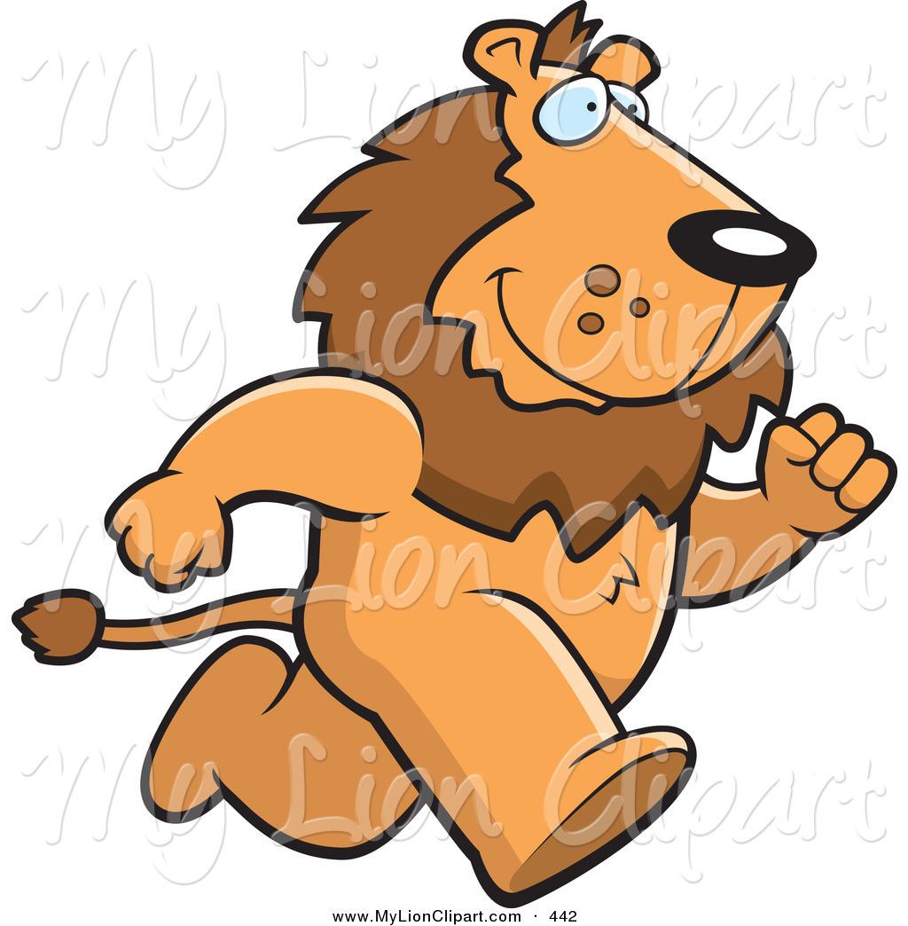 Legs clipart lion  Running Lion