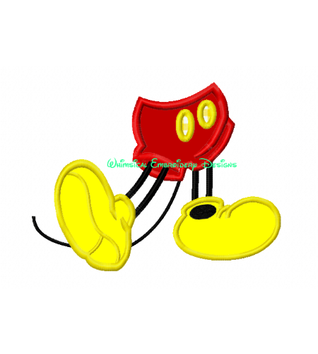 Legs clipart mickey Characters :: Characters :: M