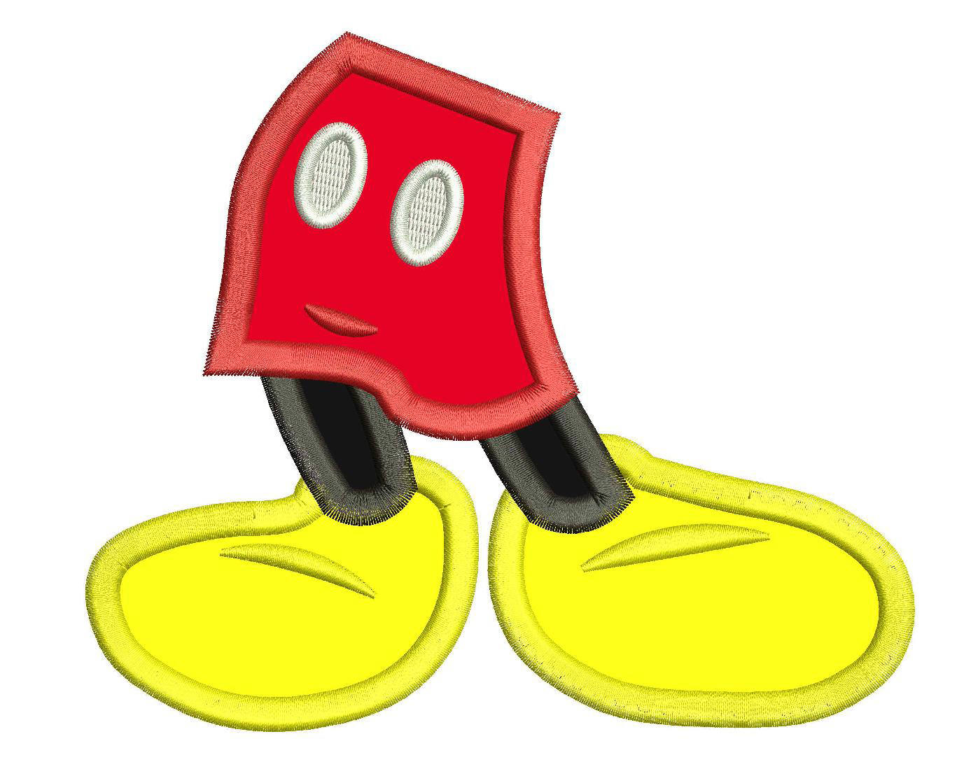 Legs clipart mickey File Applique digital a and