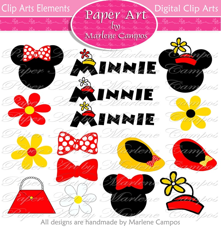 Legz clipart minnie mouse For 244 Digital Art Colors