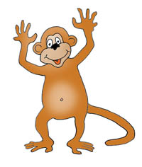 Mommy clipart monkey #3