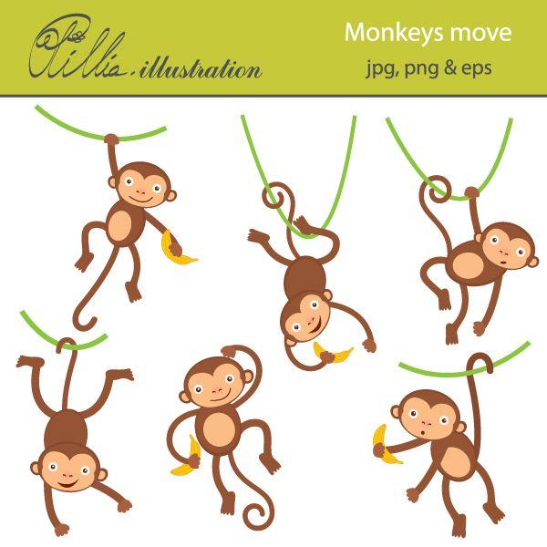 Legs clipart monkey Monkeys images cute 6 Pinterest