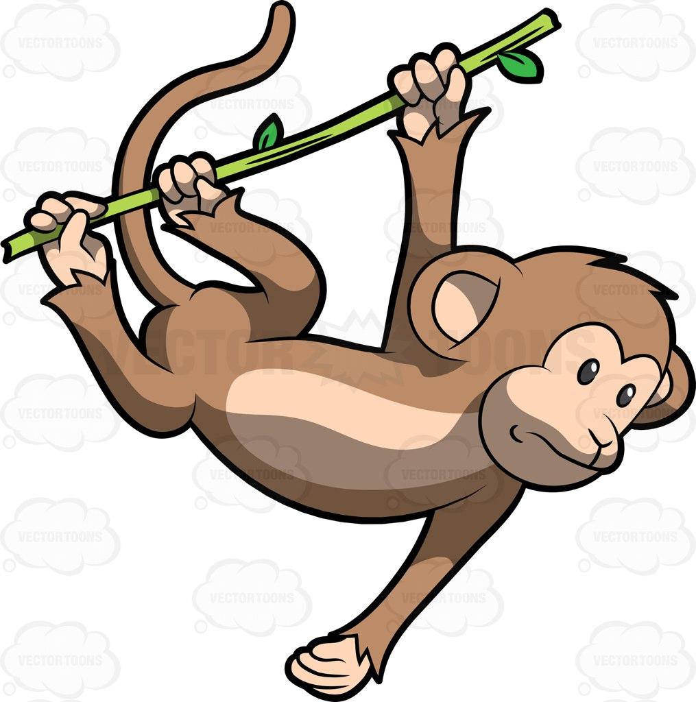 Legs clipart monkey Tree Cartoon From To Clipart