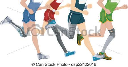 Legz clipart prosthetic Leg  Running csp22422016 Leg