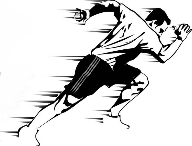 Legz clipart strong Legs sprints fast Strong and