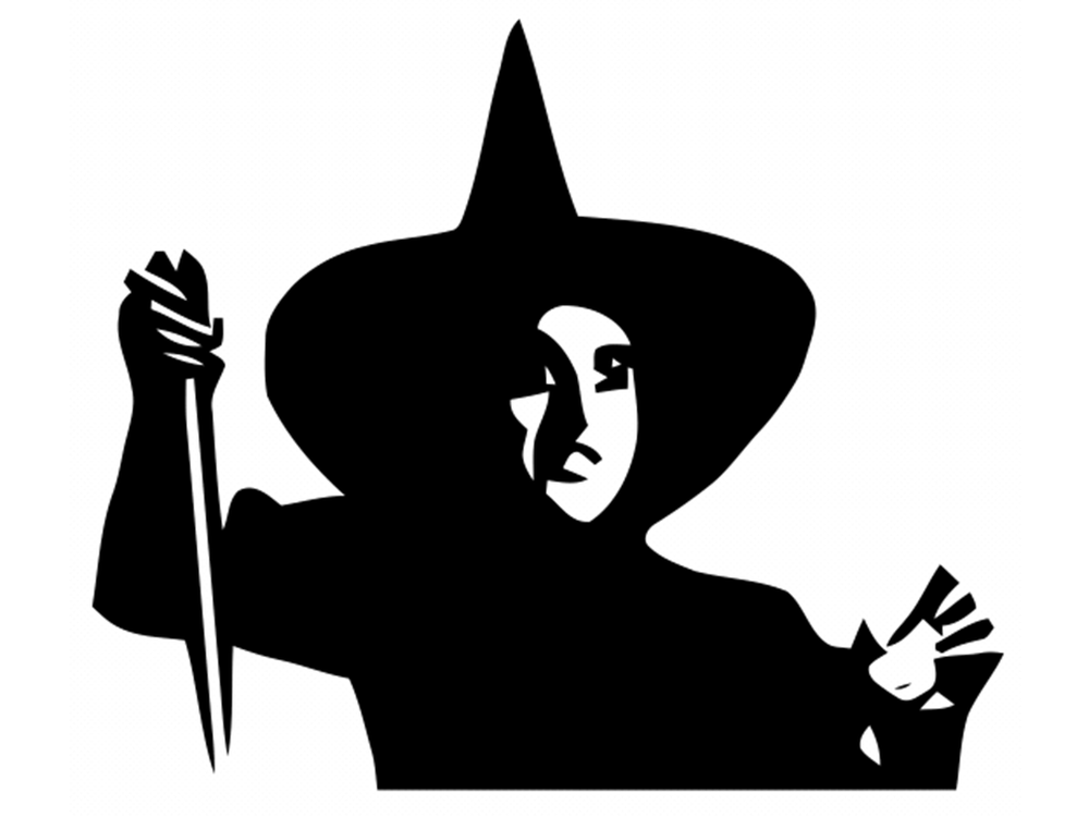 Wizard clipart witch Cliparts Wizard Oz Witch Of