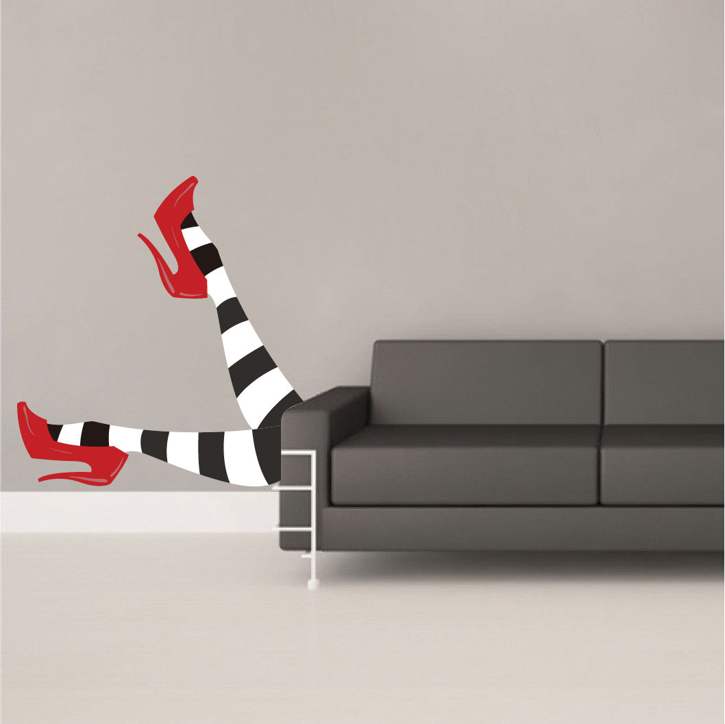 Legz clipart wicked witch Decals Stickers Witch Witch Decal