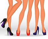 Legs clipart women's Art Heeled Free High legs