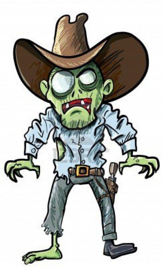 Legs clipart zombie Illustrations Clip Cowboy Clip Art