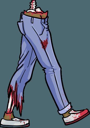 Legs clipart zombie (Good) zombie Reasons Survive a