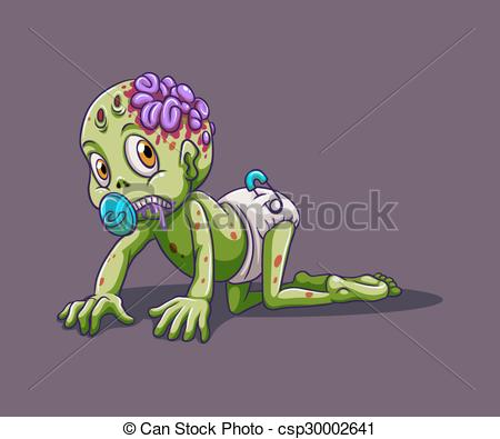 Legs clipart zombie No Art Baby alone Crawling